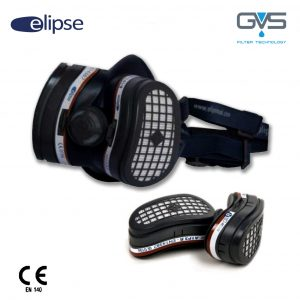 Elipse A1P3 Respiratore Filtri A1P3 sostituibili
