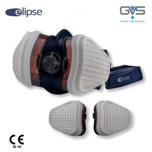 Elipse A2P3 Respiratore con Filtri A2P3 sostituibili