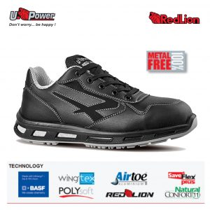 LINKIN S3 CI SRC Scarpa linea RED LION bassa in New Safety Dry idrorepellente traspirante