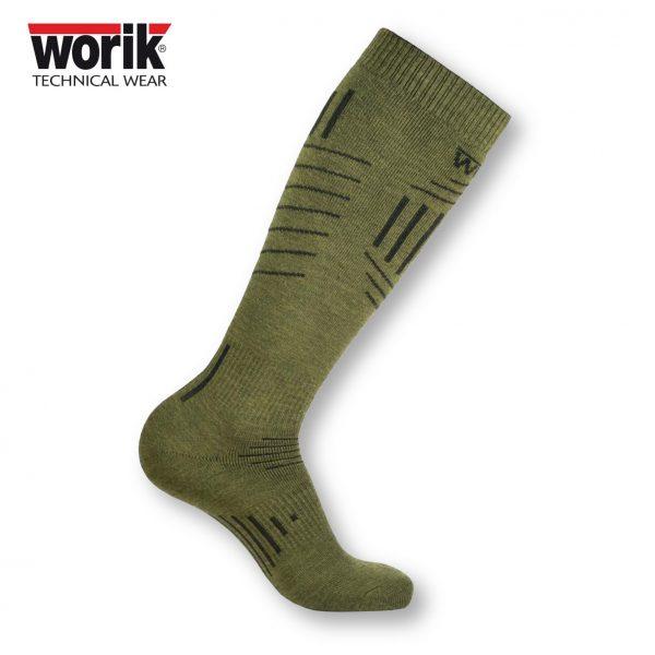 VERK Vermont Calza tecnica invernale in lana teflonata e acrilico termica termoregolante