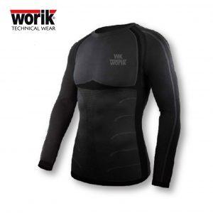 WINT Winterthur T-Shirt tecnica manica lunga girocollo Dry-Skin in polipropilene ed elastan